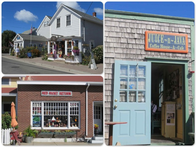 A few of the stores in town