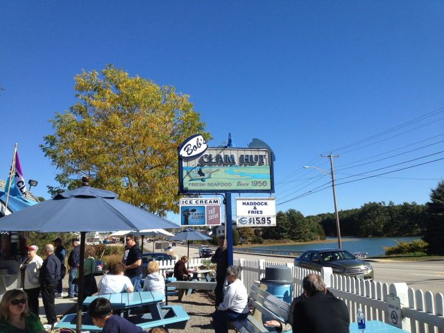 Bob's Clam Hut - Once featured on Food Network's Diners, Drive-ins, and Dives.