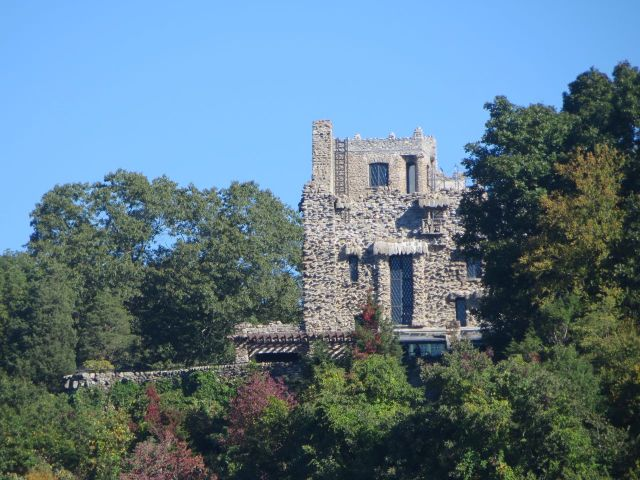 A closer view of Gillette Castle