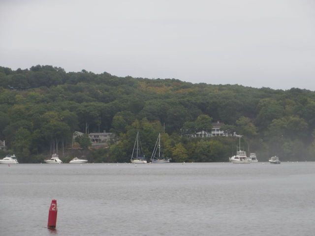 Entering Hamburg COve