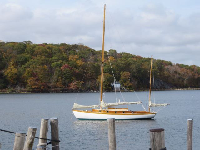 Mystic seaport scenery