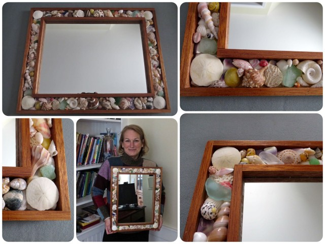 The finished mirror!! Thank you to Sam and Kayda for the idea!