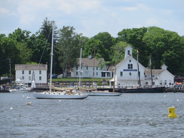 Next landmark – Essex. one of our favorite Connecticut River towns.