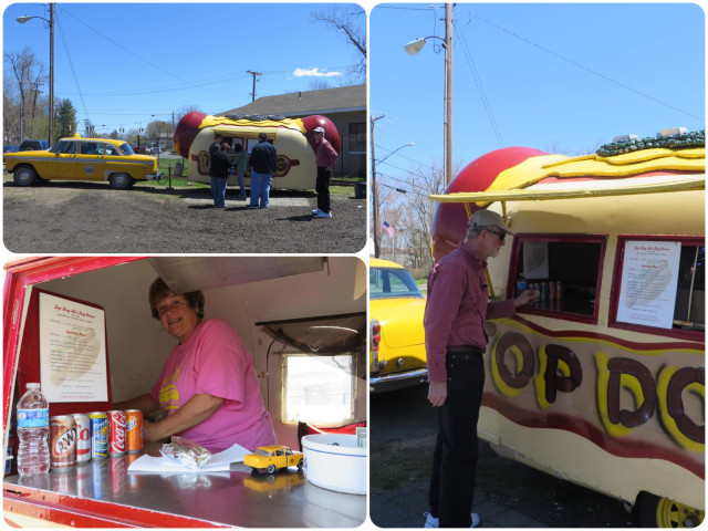 The Top Dog food truck is a must-do while working on the boat. We grabbed lunch on one of our working days.