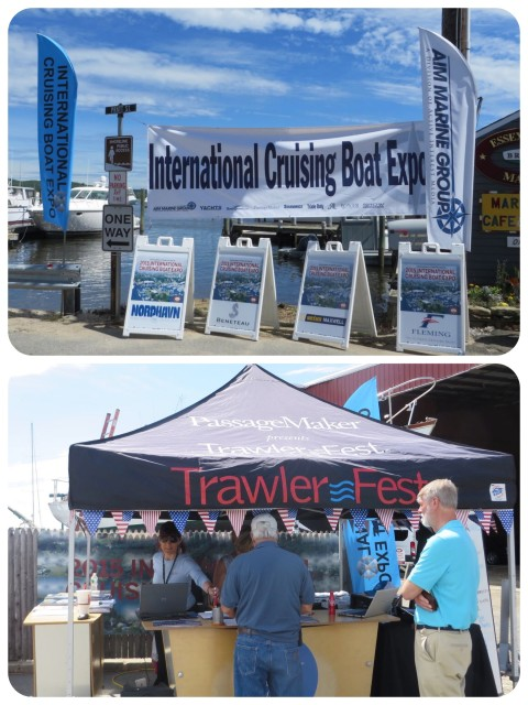 TrawlerFest entrance