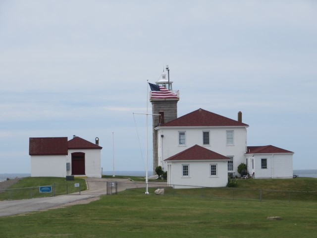 U.S. Coast Guard Station stands watch.