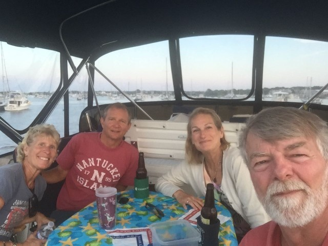 The obligatory group selfie