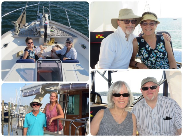 More neighbors joined us for an afternoon boat ride. Owning boat is even better when you can share it with others.