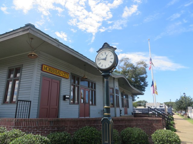 "The ""Train Depot"" established 1857"