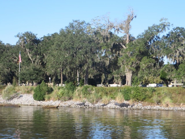 Bonaventure Cemetery – our quick glimpse of the cemetery from the boat did not do it justice at all.