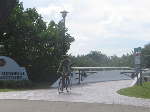 Vero is an easy place for biking - nice and flat. We bike to the park, to the beach, to CVS, to the Farmers Market.