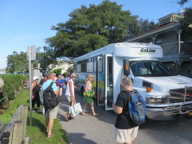 Vero Beach has a free bus that comes right by the marina. Perfect for a trip to Public to grocery shop, or to TJ Maxx, the Dollar Store, West Marine, and more.