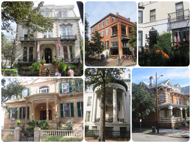 Just a few of the many historic buildings we saw. IT will take a second trip to Savannah for me to recall the importance of each of these!