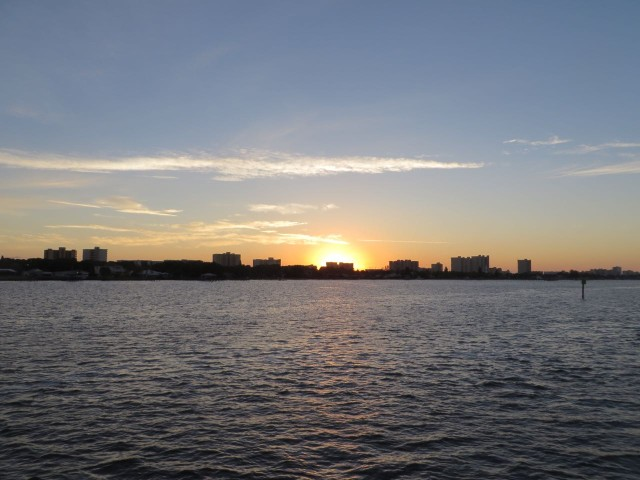 Sunrise over Daytona