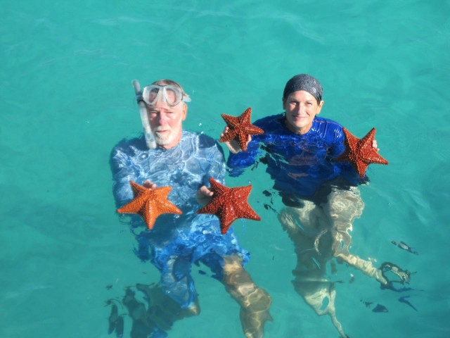 "The ""star"" theme for the day continued - A 4-STARfish day, indeed."