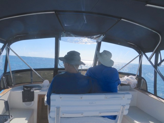 Dan and Al at the helm