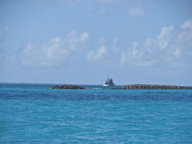 On our way back to Kindred Spirit on the other side of Fowl Cay