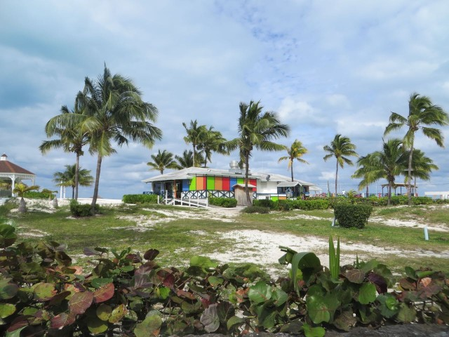 The Coco Beach Bar sits overlooking the beach.