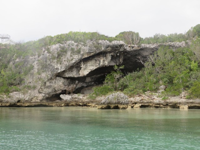 Exterior view of the cave.
