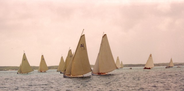 A Bahamian Regatta - the fleet (from the Abaco Rage website)