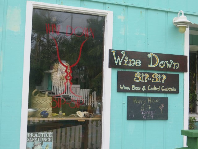 Wine Down Sip Sip - a sweet little wine bar