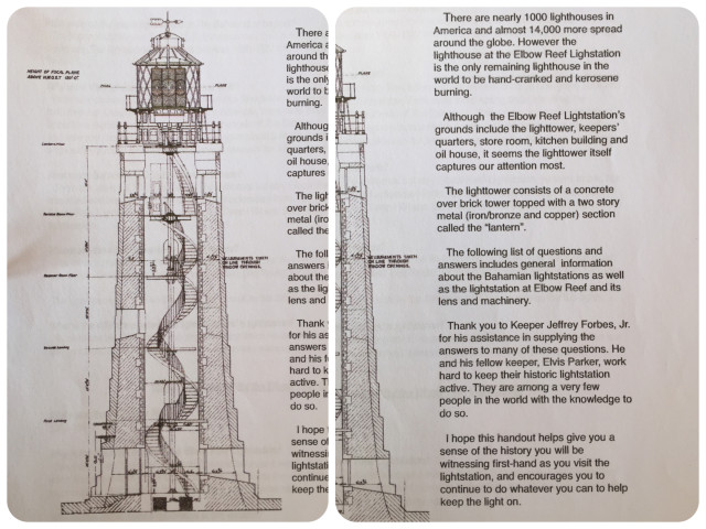 A very cool graphic diagram of how the lighthouse works.