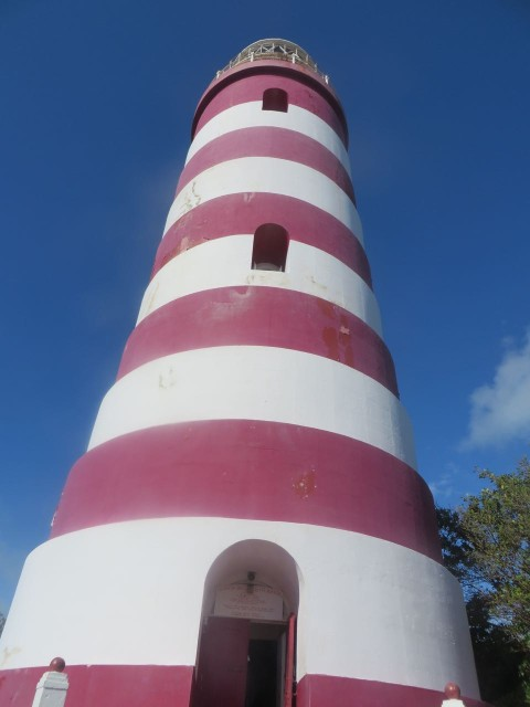 base of lighthouse