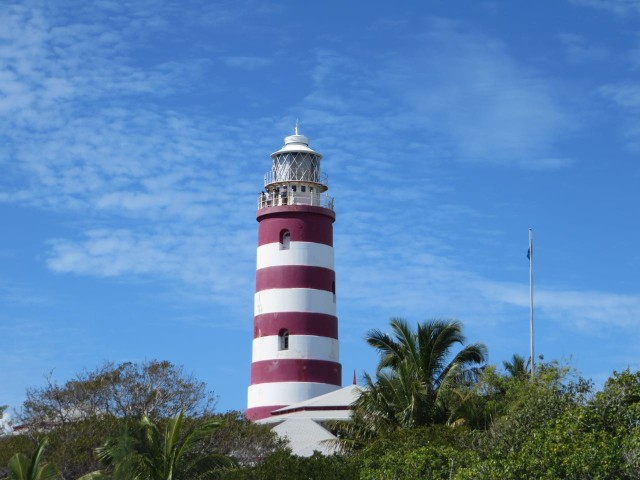 "Elbow Reef Lighthouse, ""the candy-striped lighthouse"""