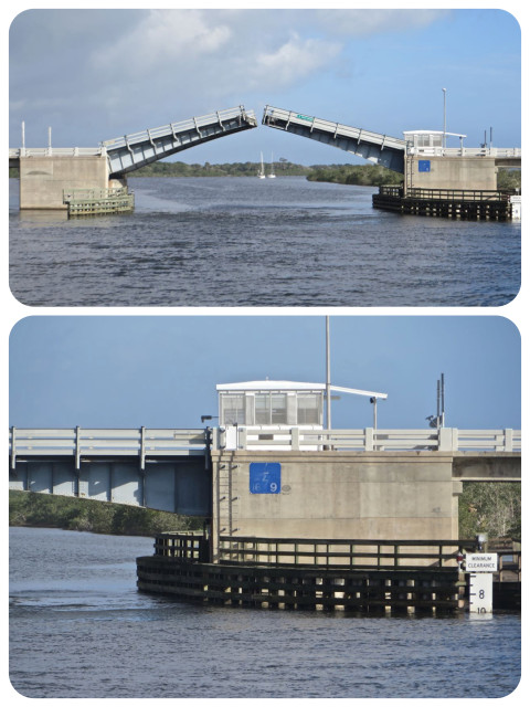 And then, the LB Knox Bridge was so low that we had to request an opening – only ten foot clearance!