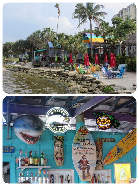 Squid Lips! Outside and inside - just a funky typical water front bar.