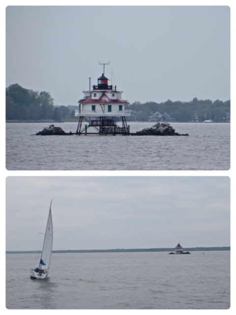 My favorite lighthouse in the Chesapeake - Thomas Shoal Light.