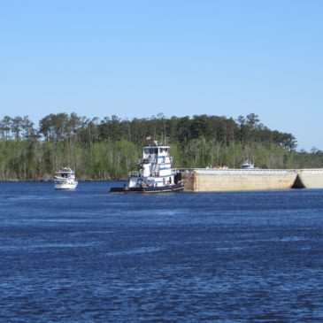 Dances with Barges – Northbound on the Virginia Cut