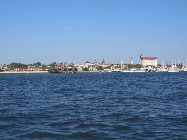 St. Augustine has a distinctive look to its skyline. It's really a lovely historical city to visit and explore.