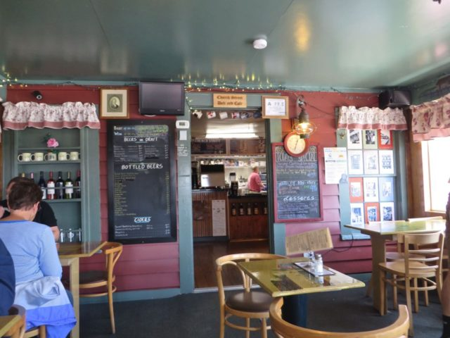 Lunch at Church Street Irish Pub & Deli – good burgers in a funky little restaurant.