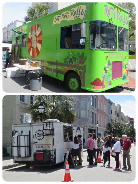 Food trucks on King Street