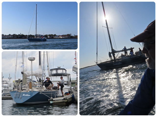 Santarelli, a Baltic 38, from Shennecossett Yacht Club. Good Luck!