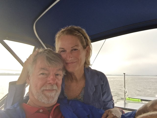 A selfie to make the 200th day of our 2015-2016 cruising season.