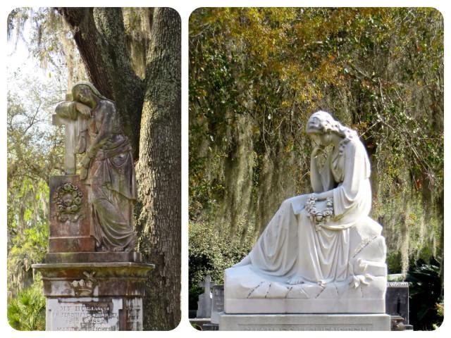 statue 1 & 2