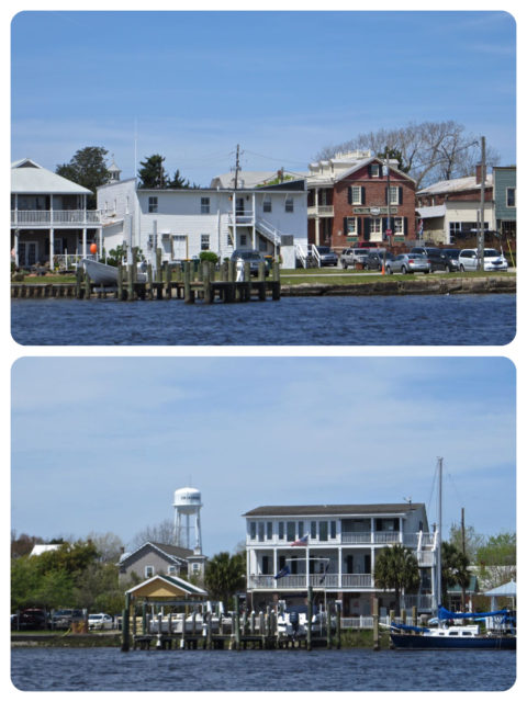 Swansboro waterfront view.