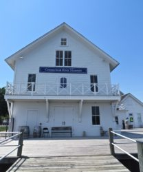 Connecticut River Museum - a nice location for a gathering of boaters.