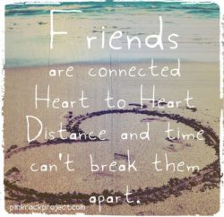 friends and distance