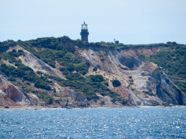 It is always an exciting moment when the Aquinnah Lighthouse comes into view.