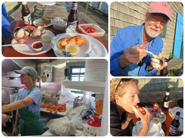 Dinner at Larsen's Seafood