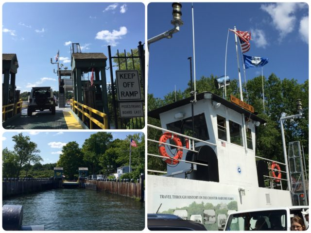 "The Chester-Hadlyme Ferry - ""over the river......."""