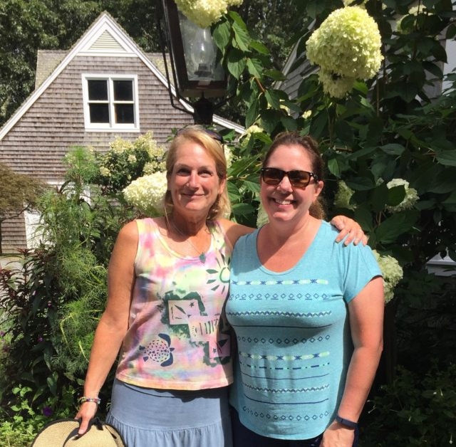 My dear friend, Maureen. How nice it was to spend time with her on Martha's vineyard. :-)