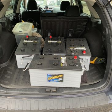 """Watsonizing"" – McGyver'ed Battery Installation"